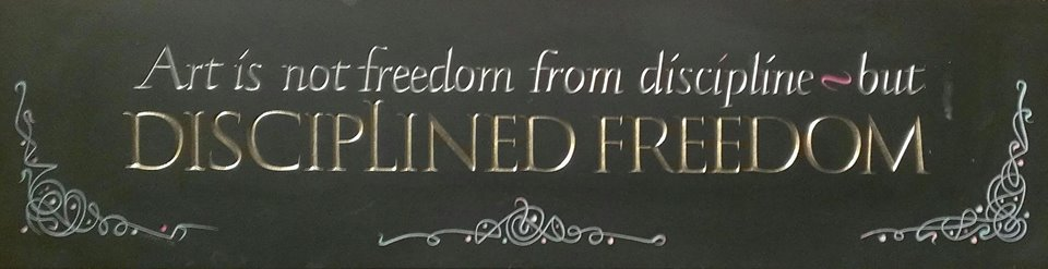 Disciplined Freedom