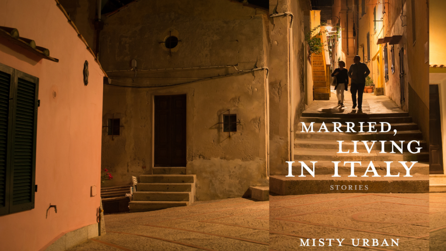 Cover image of story collection Married, Living in Italy